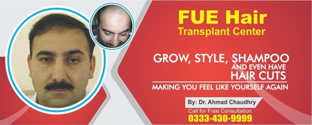 Hair restoration in Pakistan
